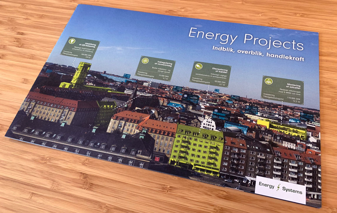 Produktbrochure for Energy Projects